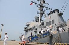 Việt Nam-Hoa Kỳ bắt đầu hoạt động trao đổi hải quân