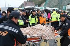 Nguyên nhân vụ đắm phà ở Hàn Quốc còn chưa rõ ràng
