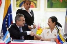 Venezuela, Argentina ký kết hợp tác quân sự song phương