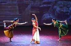 [Photo] Chương trình trình diễn nhạc kịch Ấn Độ