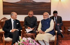 Pháp và Ấn Độ tăng cường hợp tác trên nhiều lĩnh vực