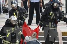 Bắt 2 công nhân liên quan vụ tai nạn tàu điện ngầm ở Moskva