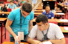 Đề thi lý thuyết Olympic Hóa học tạo được dấu ấn của Việt Nam