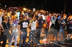 Dân Mỹ biểu tình phản đối vụ thanh niên da màu bị bắn chết