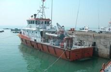 Cứu hộ thành công một ngư dân bị móc sắt đâm trọng thương