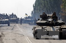"""Liên hợp quốc quan ngại """"leo thang nguy hiểm"""" tại Ukraine"""
