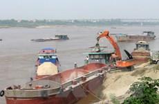 Tỉnh trạng khai thác cát trái phép tại Thanh Hóa vẫn tái diễn