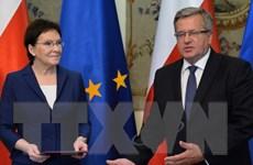 Thủ tướng mới chỉ định của Ba Lan công bố danh sách nội các mới
