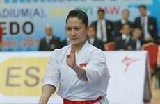 ASIAD 17: Hoàng Ngân chỉ giành huy chương bạc karatedo