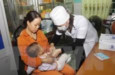 Chiến dịch tiêm vắcxin sởi-rubella đã triển khai tại 15 tỉnh, thành