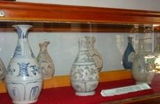 Quảng Ngãi: Trưng bày hơn 500 cổ vật trục vớt từ tàu cổ bị đắm