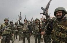 Quân đội Syria hạ máy bay do thám không người lái ở miền Đông