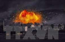 Giao tranh với IS gần mỏ khí đốt, hơn 30 binh sỹ Syria tử vong
