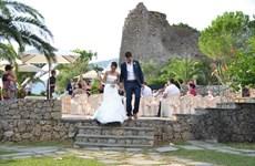 Hàng nghìn đôi uyên ương nước ngoài đổ về Italy tổ chức đám cưới