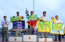 Kết thúc giải đua ghe ngo đồng bào Khmer Nam Bộ tại Sóc Trăng