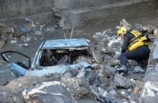 Thời tiết xấu vẫn lan rộng ở Italy khiến 11 người thiệt mạng