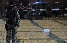 Tây Ban Nha thu giữ gần một tấn cocaine ngoài khơi đảo Canary