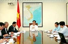 Thủ tướng Nguyễn Tấn Dũng làm việc với lãnh đạo tỉnh Đắk Lắk