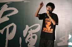 Thủ lĩnh phong trào biểu tình bị cấm hiện diện tại Mong Kok