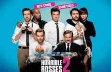 """Dàn sao trong """"Horrible Bosses 2"""" khiến khán giả cười nghiêng ngả"""