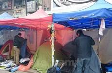 Hong Kong: Hàng chục người bị bắt do chống lệnh giải tỏa