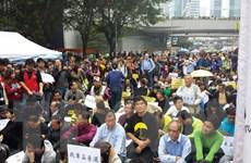 """Hong Kong đối mặt với làn sóng biểu tình """"Chiếm Trung tâm"""" mới"""
