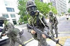 Trung Quốc diễn tập chống khủng bố nhằm đảm bảo an ninh Bắc Kinh