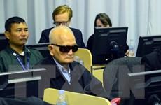 Campuchia nối lại phiên xét xử hai cựu thủ lĩnh Khmer Đỏ