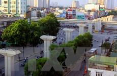 Thi công trở lại 8 hạng mục đường sắt tuyến Cát Linh-Hà Đông