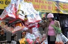 Nhộn nhịp thị trường hàng chuẩn bị cho lễ tiễn Táo quân