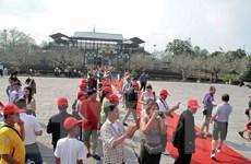 Khách nước ngoài chiếm 58% tổng lượt khách đến Huế dịp Tết