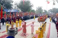 Phú Thọ gìn giữ bản sắc văn hóa lễ hội đền Mẫu Âu Cơ