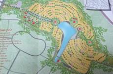 Vĩnh Phúc cấp chứng nhận xây công viên nghĩa trang 118ha