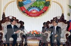 Chủ tịch nước Trương Tấn Sang hội kiến các lãnh đạo Lào