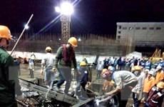 Yêu cầu kiểm tra quy trình thi công dựng giàn giáo ở Vũng Áng