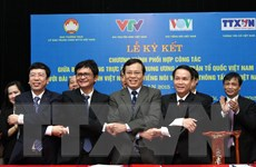 Thông tấn xã Việt Nam phối hợp công tác với Mặt trận Tổ quốc