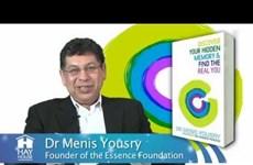 """Ra mắt cuốn """"Tìm lại chính mình"""" của chuyên gia tâm lý Menis Yousry"""