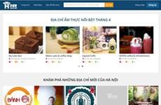 Ra mắt website tập hợp nhiều địa chỉ ăn uống tại thủ đô Hà Nội