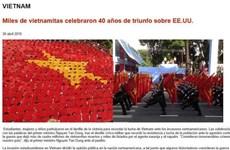 Báo Argentina đưa tin về Việt Nam nhân kỷ niệm 40 năm giải phóng