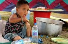 Tiêm vắcxin cho hơn 500.000 trẻ em tại Nepal sau động đất