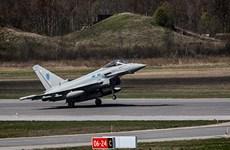 Anh điều 4 máy bay chiến đấu Typhoon tới Estonia tuần tra chung