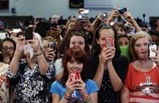 Điện thoại thông minh đứng thứ ba về số người sử dụng ở Mỹ