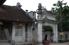 """Đã tháo dỡ một nửa số bia đá """"dựng chui"""" tại đền Trần ở Thái Bình"""