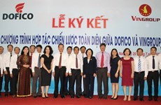 Dofico và Vingroup hợp tác phát triển nông nghiệp công nghệ cao