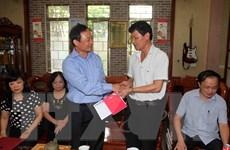TTXVN tổ chức 90 đoàn thăm hỏi gia đình liệt sỹ, thương binh