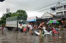 [Photo] Lũ lớn tại Quảng Ninh, nước ngập đến tầng 2 nhà dân