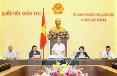 Thường vụ Quốc hội cho ý kiến về 17 dự án luật và 1 pháp lệnh