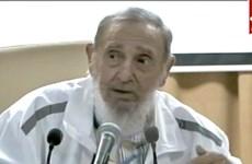 Họa sỹ Việt Nam tặng tranh mừng sinh nhật lãnh tụ Fidel Castro