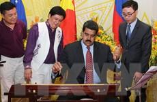 Tổng thống Venezuela kết thúc chuyến thăm chính thức Việt Nam