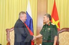 Việt-Nga tiếp tục đẩy mạnh hợp tác quốc phòng đi vào chiều sâu